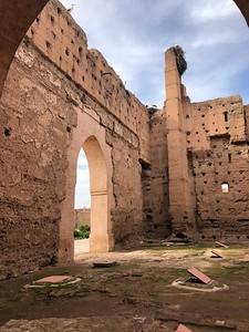 Through the arch at the Badi Palace
