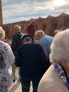 Piotr takes the group on a journey through Moroccan history