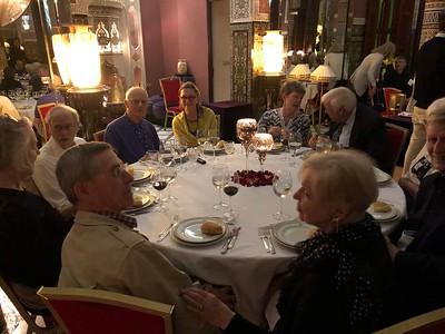 Welcome Dinner at Palais Soleiman