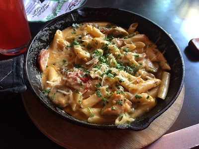 Blue Bayou Pasta - Yum!