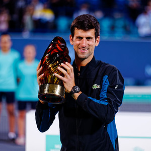 01.04b Winner Novak Djokovic - Mubadala WTC 2018
