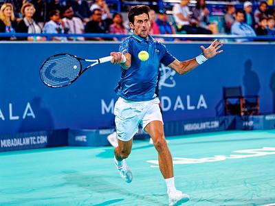 01.01b Novak Djokovic - Mubadala WTC 2018