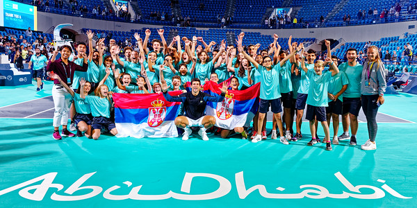 01.04c Winner Novak Djokovic - Mubadala WTC 2018