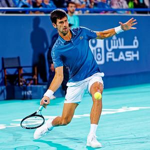 01.01a Novak Djokovic - Mubadala WTC 2018