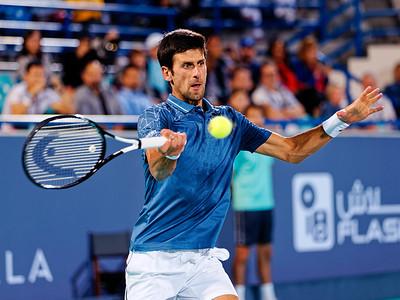 01.01 Novak Djokovic - Mubadala WTC 2018