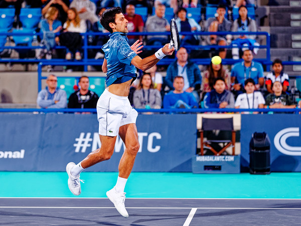 01.01c Novak Djokovic - Mubadala WTC 2018