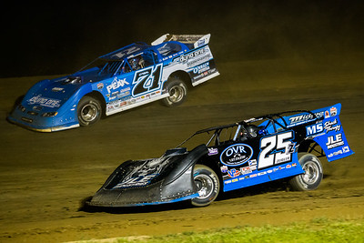 Mason Zeigler (25Z) and Hudson O'Neal (71)