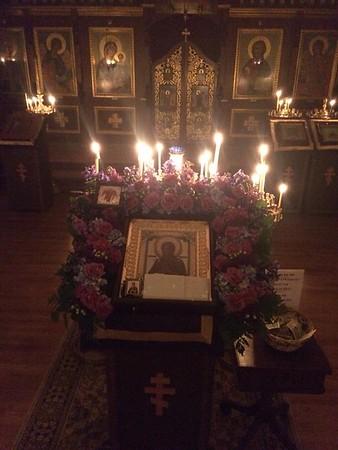 "Myrr Streaming Icon ""Softner of Evil Hearts"" Visits St Vladimir Parish"