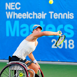 01 Diede de Groot - NEC Wheelchair Tennis Masters 2018