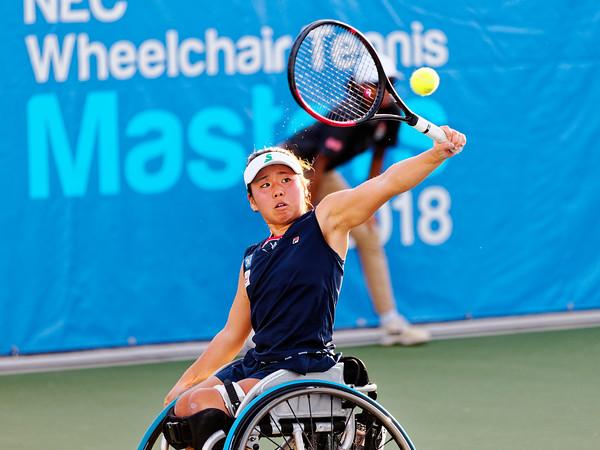 03b Yui Kamiji - NEC Wheelchair Tennis Masters 2018