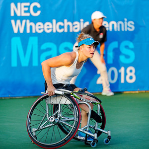 01b Diede de Groot - NEC Wheelchair Tennis Masters 2018