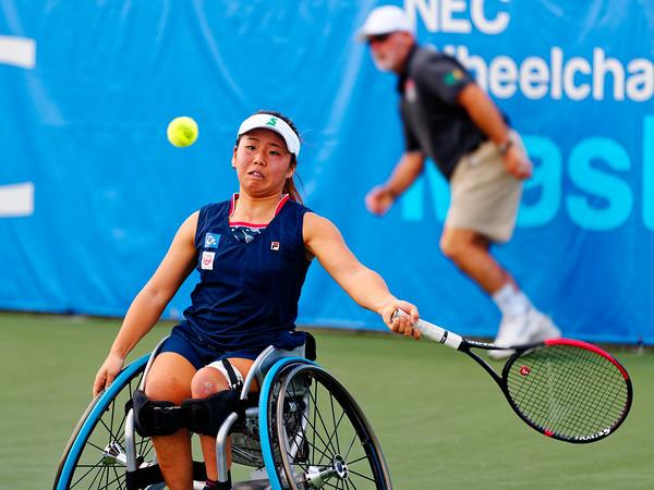 03a Yui Kamiji - NEC Wheelchair Tennis Masters 2018