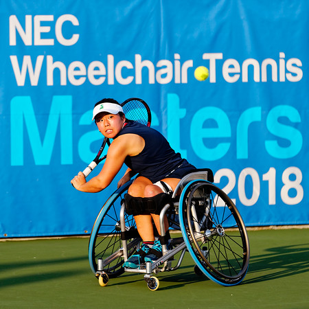 03 Yui Kamiji - NEC Wheelchair Tennis Masters 2018