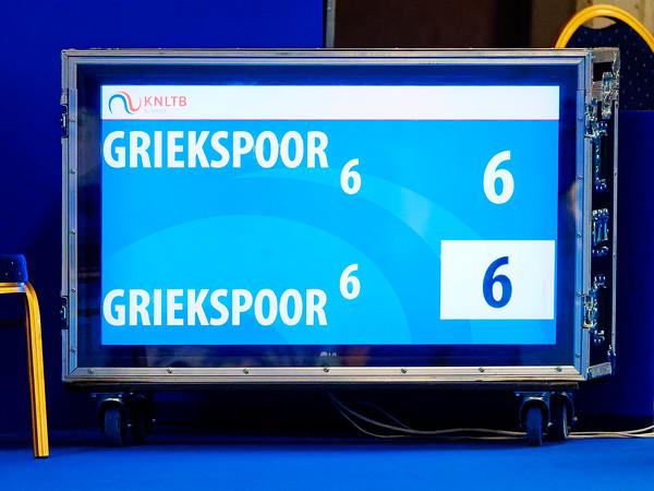 02c Griekspoor vs Griekspoor  - NK tennis 2018
