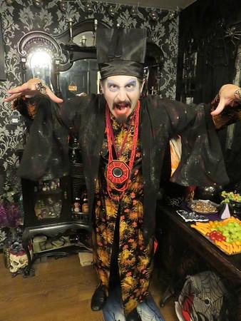 Nadia Halloween Party