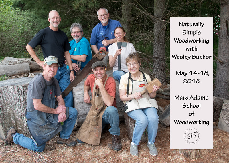 Naturally Simple Woodworking with Wesley Bushor