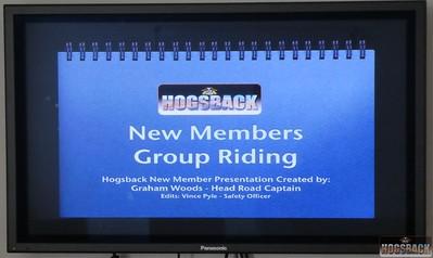 New Member Ride, 14 Jul 2018