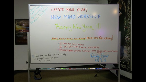 New Mind Workshop - January 2018