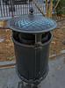 Acorn trash can