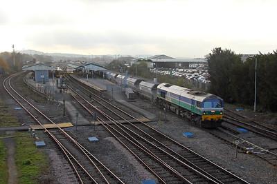 59004 Westbury 15/11/18 6L21 Whatley to Dagenham Dock