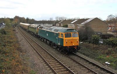 47853 Eastleigh 19/11/18 5Z80 Crewe to Eastleigh with 47805