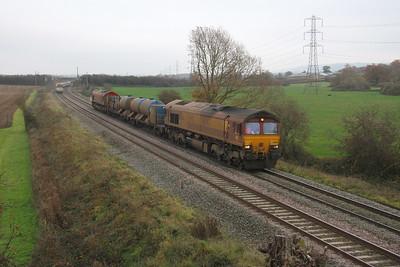 66067 Berkley 15/11/18 3J13 Westbury to St Blazey