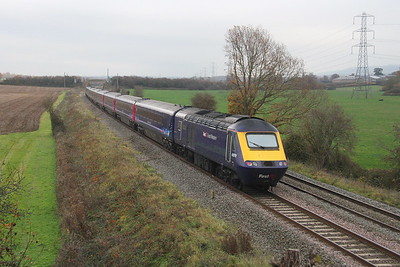 43070 Berkley 15/11/18 on the rear of 1A79 Penzance to London Paddington