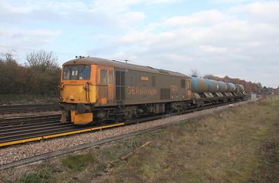 73213 Worting Junction 21/11/18 6Y91 Tonbridge to Eastleigh
