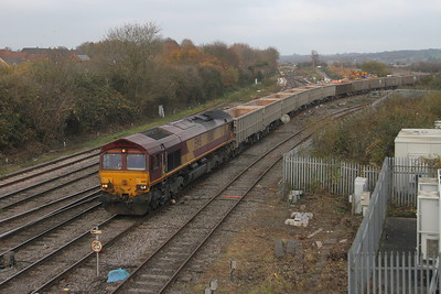 66113 Westbury 15/11/18 6C58 Oxford Banbury Road to Whatley
