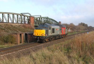 37611 Battledown 26/11/18 0O86 Leicester to Eastleigh