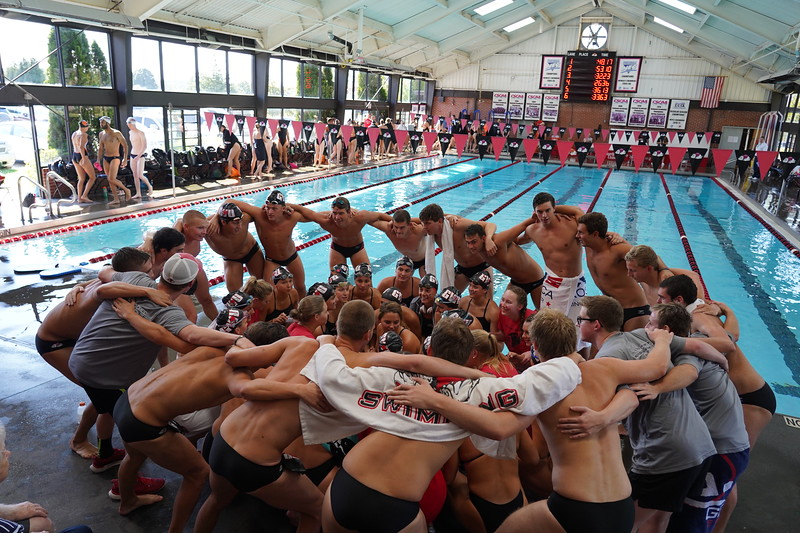 Gardner Webb swim meet