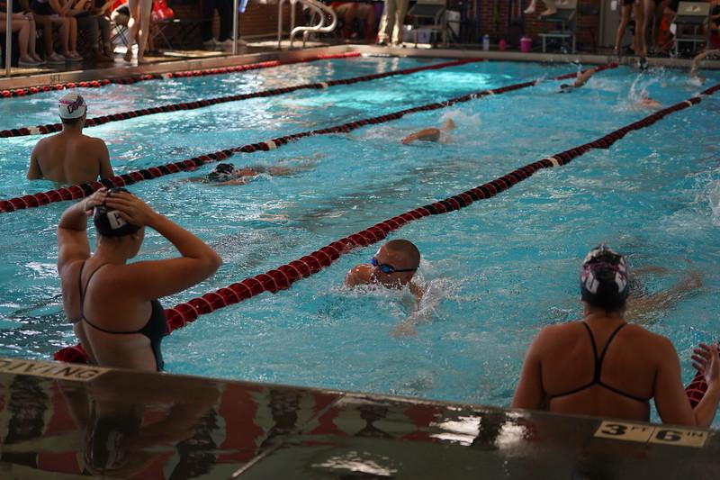 Gardner Webb swim meet