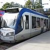 HTM RandstadRail Alstom Regio Citadis tram-train no. 4032 at Zoetermeer Centrum West on the  3 to Loosduinen, 03.10.2018.