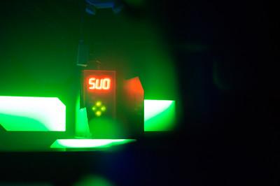 Laser Tag scoreboard