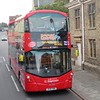 Stagecoach open top Volvo Wright Gemini 3 BV18YBB 13809 in Cambridge on the CitySightseeing tour, 07.10.2018.