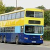 Landmark Coaches Dennis Dragon Duple Metsec M686TDB (ex Magic Bus 15186) parked at Bedford Modern School, 07.10.2018.