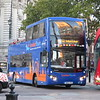 Golden Tours London (GrayLine) open top Volvo MCV Evoseti BD16YFB 138 in Westminster on the Red Route, 09.10.2018.