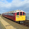 South Western Railway Island Line Class 483 (London Underground 1938 Stock) no. 483004 arriving at Ryde Esplanade on a Shanklin service, 13.10.2018.