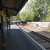 Shanklin station, southern terminus of the Island Line, 13.10.2018.