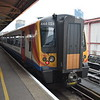 South Western Railway Class 444 Desiro no. 444024 at Portsmouth Harbour on a Waterloo service, 13.10.2018.