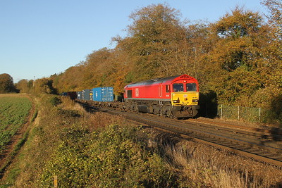 66085 Micheldever 29/10/18 4O21 Trafford Park to Southampton