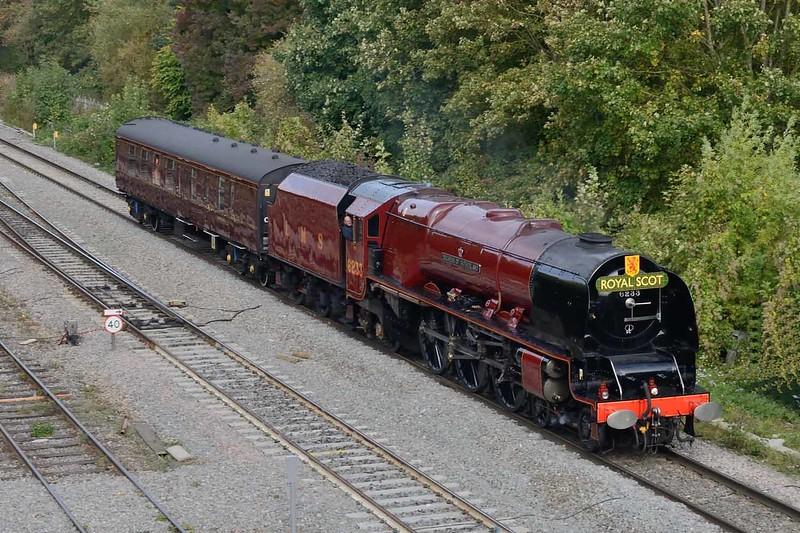 11 October 2018 :: A closer look at LMS Coronation Class 4-6-2 no 6233 Duchess of Sutherland