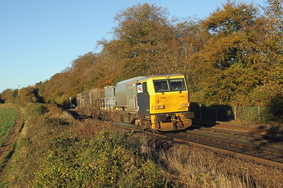 DR98964 Micheldever 29/10/18 3S82 Totton Yard to Totton Yard