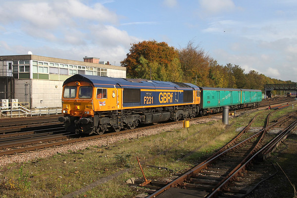 66775 Basingstoke 18/10/18 5Y68 Tonbridge to Eastleigh