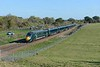 22 October 2018 :: GWR IET 802 101 is westbound at Hungerford working 1C80, the 1203 from Paddington to Penzance