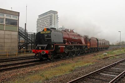6233 Basingstoke 15/10/18 5Z83 Swanage to Bury East Lancs Railway