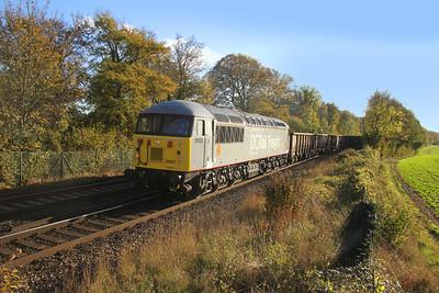 56103 Micheldever 29/10/18 6Z34 Eastleigh East Yard to Willesden
