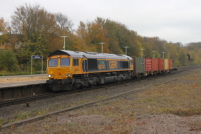 66741 Micheldever 25/10/18 6O45 Bicester to Marchwood