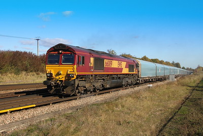 66089 Worting Junction 22/10/18 4O40 Morris Cowley to Southampton Eastern Docks