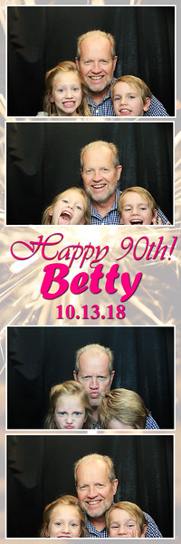 10.13.18 Betty's 90th Birthday Party